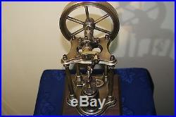Model live steam engine