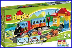 NEW LEGO Duplo My First Train Set 10507 Motor Sounds -Track Rail Steam Engine