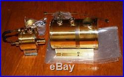 NEW vintage 1st Gen. Saito Steam Engine Boiler & Burner B2-A blue prints box NOS