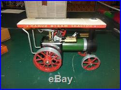 Never Used Mamod Steam Tractor Steam Engine with Box & Accessories