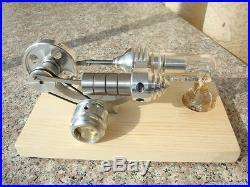 New LED Stirling Engine Steam Engine Model Educational Toy Kits