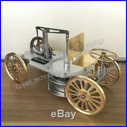 New Low Temperature Engine Model Toy Hot Water Run Steam Heating Car Model Toy