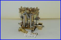 New Two-cylinder steam engine Model Live Steam M29