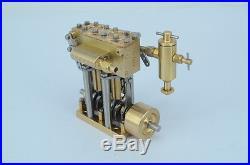 New Vertical cylinder steam engine Live Steam