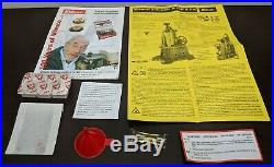 New Wilesco Model D455 Live Steam Engine Toy Never Fired