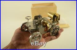 New steam engine car, live steam, steam