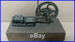 Nice Antique Brass & Cast Iron Toy Live Steam Engine HIGH QUALITY