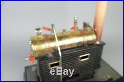 Nice vintage Marklin live steam engine, prewar tin toy #2