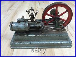 Old Antique Live Steam Engine Model Heavy