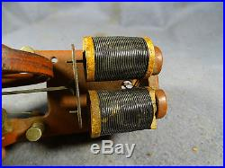 OLD ANTIQUE VINTAGE CAST IRON TOY STEAM ENGINE GENERATOR ACCESSORY