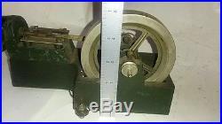 Odd Antique Electric Steam Engine Motor Flywheel Toy Electro Magnet Vintage