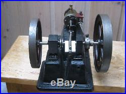 Old ANTIQUE TOY LARGE MODEL of a LIVE STEAM ENGINE
