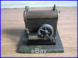 Old Antique STEAM ENGINE BOILER Mechanical toy of 40's, (very rare)