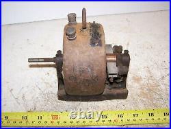 Old K&D Open Frame Electric Motor Antique Generator Toy Hit Miss Steam Engine