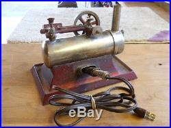 Old Model Steam Engine Central Scientific Co. Chicago USA 1940s