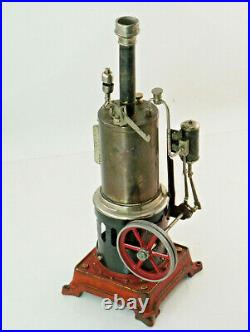 Old Standing Falk-Dampfmaschine, Tin Toy Not Complete (1X33)