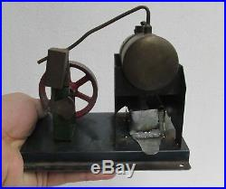 Old Vintage Toy Steam Engine, Argentine, Working, Lqqk Video, R. E. O. Very Good