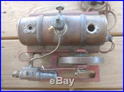 Old Vtg Electric Weeden Steam Engine Model Tanker Toy 40 Volts 3.7 Amp