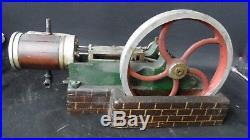 Original As Found Large Working Steam Engine