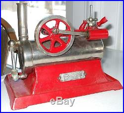 Original Empire Model Toy Steam Engine Model B30 Nice Condition Patent 1921