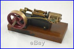 PM Research Live Steam Engine Model Toy Horizontal Complete Ready to Display