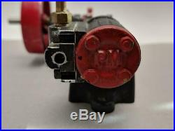 PM Research Miniature live steam engine made in usa aluminum & brass working