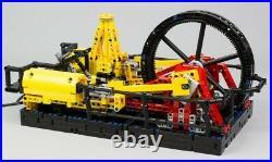 Pneumatic operation steam engine model assembly Building blocks