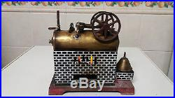 RARE ANTIQUE 1930 PORTUGUESE STEAM ENGINE TOY MADE BY SOARFIL PORTO