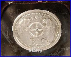 RARE ANTIQUE GERMAN ERNST PLANK 1899 VERTICAL TOY STEAM ENGINE IN TOP CONDITION