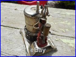 RARE ANTIQUE Vintage OLD Weeden Boiler Toy STEAM ENGINE