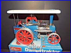 RARE GENUINE Wilesco D405 TOY STEAM ENGINE TRACTOR MADE IN WEST-GERMANY