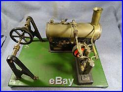RARE OLD BRITISH LIVERPOOL VINTAGE MERSEY MODEL CO. TOY STEAM ENGINE