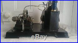 RARE RARE EARLY DOLL 362 TOY STEAM ENGINE TWIN ENGINE