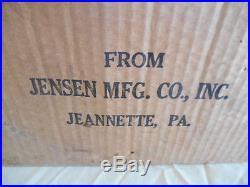 RARE RESTORED JENSEN # 5 STEAM ENGINE NICE