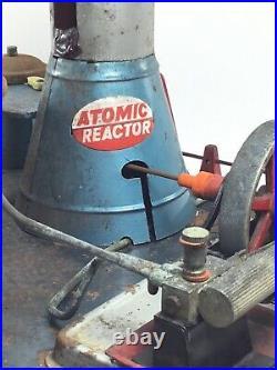 RARE VINTAGE 1950s MARX LINEMAR ATOMIC REACTOR STEAM ENGINE INCOMPLETE