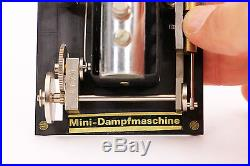 RARE Vintage Mini-Dampfmaschine L-S LOC Steam Engine CH-4016 Basel SWISS RK 102