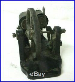 RARE early 1900s Antique ELECTRIC TOY FLYWHEEL MOTOR Steam Engine # 1013