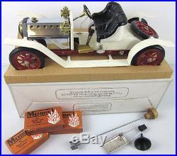 RARE vtg Mamod Steam Engine Roadster 1319 British Toy Car solid fuel pellet BOX