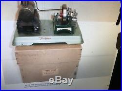 REDUCED Fleischmann 122/2 1st. Model steam engine with ORIGINAL BOX INSTRUCTIONS