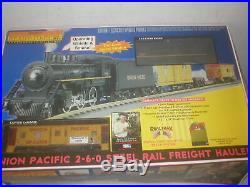 Railking 30-4048-0 Union Pacific 2-6-0 Steam Engine O-gauge Toy Train Set In Ob