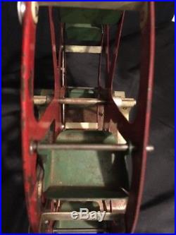 Rare Empire Steam Engine Ferris Wheel Pulley Driven Toy Vintage Accessory