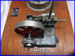 Rare Jensen MFG. Model 40 Electric Steam Engine