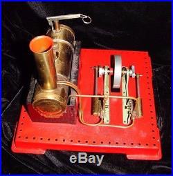 Rare Mamod Superheated Twin Cylinder Steam Engine S. E. 3