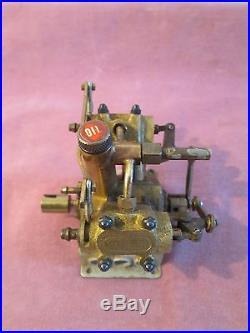 Rare Vintage SAITO Model Steam Engine V4PR for Ships