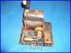Rare early 1900's Toy Steam Engine brass and tin made by Montgomery Ward