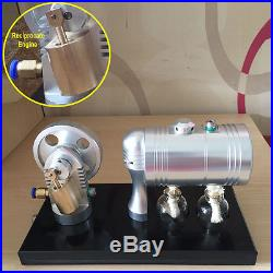 Reciprocate Steam Engine Motor Toy Mini Steam Generator Motor Model with Boiler