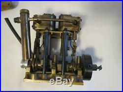 SAITO B3 BOILER AND ALCOHOL BURNER and Saito T2 Steam Engine