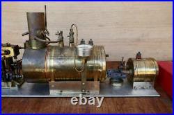 SAITO Steam engine 25cc for model ship marine boat T2GR & B2G boiler Set Rare