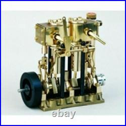 SAITO Steam engine for model ship marine boat T2DR #0031