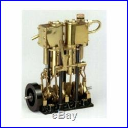 SAITO Steam engine for model ship marine boat T2DR-L Deluxe specification